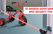 10 garage door safety and security tips