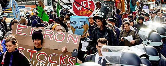examining the enron scandal The enron scandal brought down one of the most admired companies of the 1990s countless books and articles were written about it,.