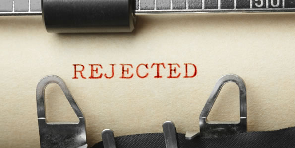 Image result for rejected writing