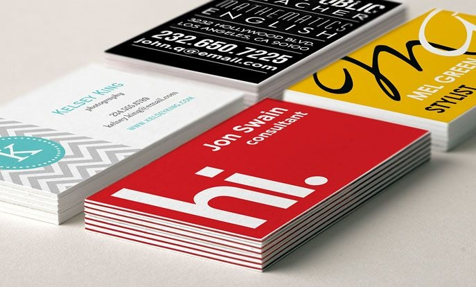 Why You Should Consider Personalized Printed Business Cards