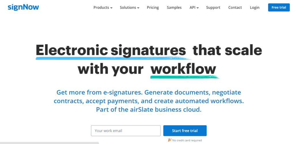 How to Simplify Electronic Workflow with SignNow?